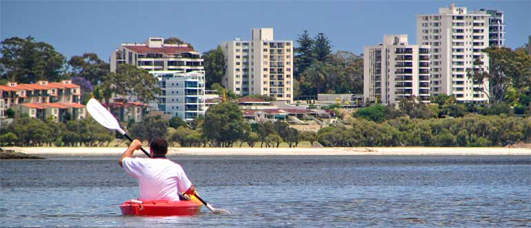 apartments near Perth beach